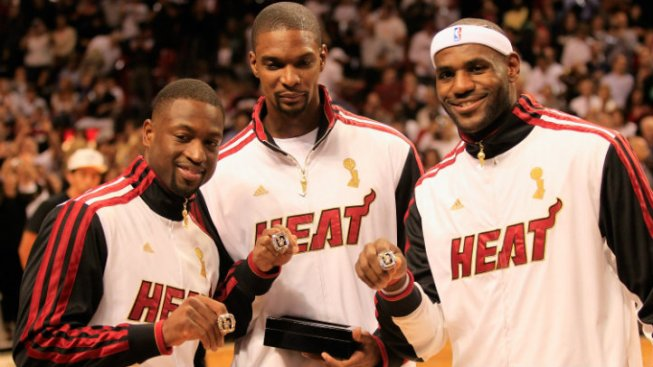 Heat Open Season With Ring Ceremony and Three-Peat Aspirations