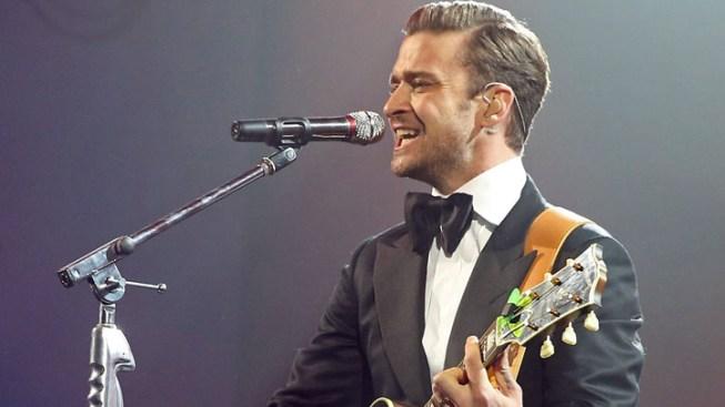 Timberlake Gives Super Bowl-Eve Comeback Concert