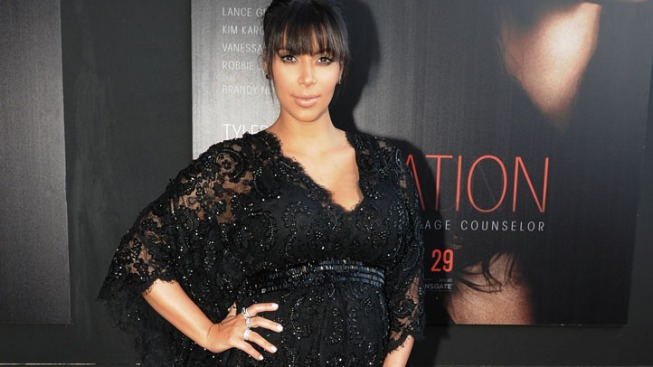 "Kim Kardashian's ""Temptation"" Red Carpet: Kravings, Komic Relief and Kanye"
