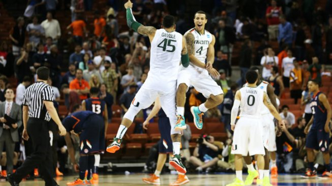 University of Miami Hurricanes Depart for Sweet Sixteen