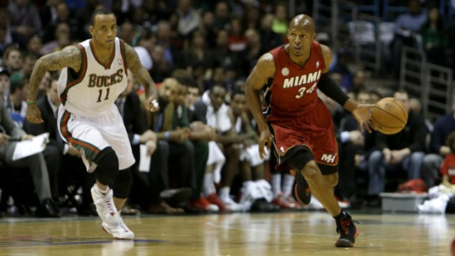 Heat: Allen Opts in for 2013-14