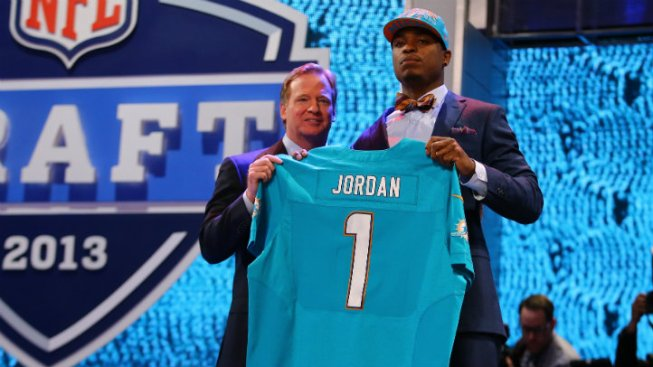 Top Miami Dolphins Pick Dion Jordan Misses First Practice at Training Camp