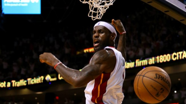 Watch: LeBron's Dunks are in Mid-Season Form