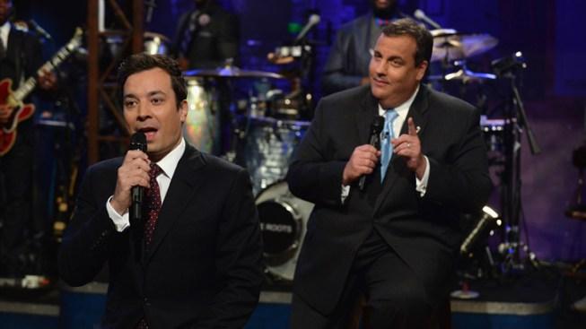 "N.J. Gov. Chris Christie ""Slow Jams"" with Jimmy Fallon About Senate Decision"