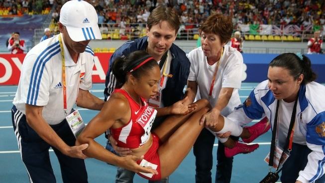 Sprinter Allyson Felix Out of World Championships with Hurt Hamstring