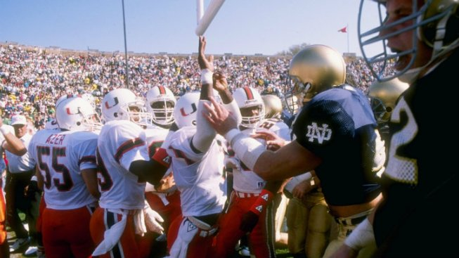UM-Notre Dame Rivalry Was Once One of College Football's Best