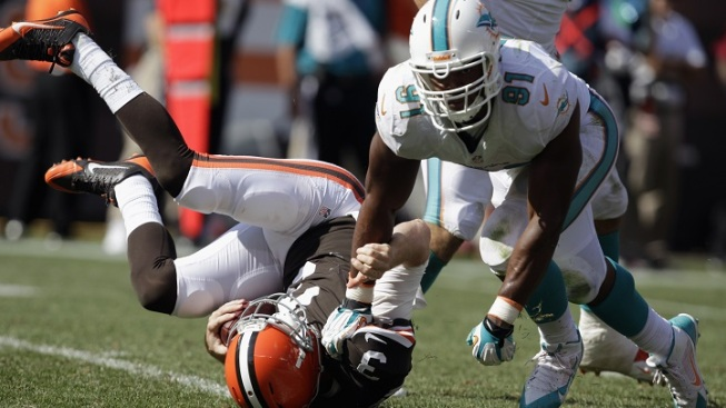 Dolphins: Wake Has Sprained MCL
