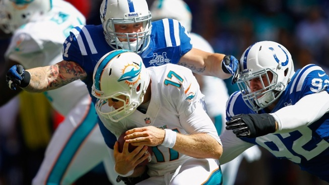 Dolphins: Tannehill Limited in Practice