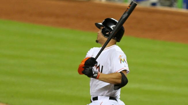 Giancarlo Stanton Powers Miami Marlins to 11-1 Win Over New York Mets
