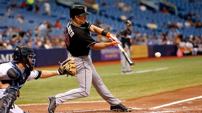 Marlins Win Fourth Straight in Wild Game