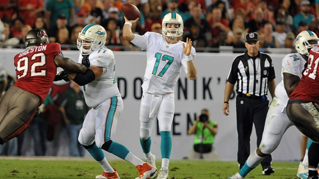 Preseason Continues in Tampa For Dolphins