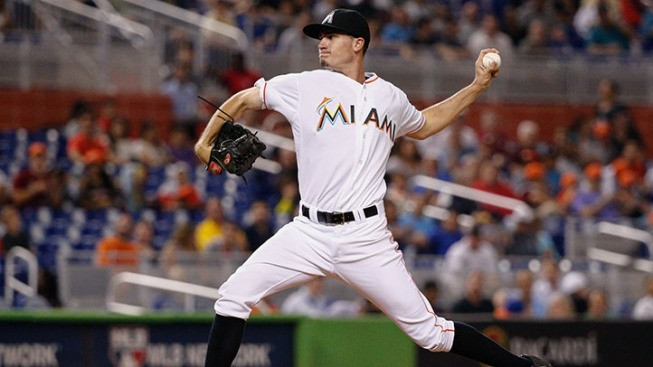 Marlins Fall Despite Six Strong Innings From Heaney