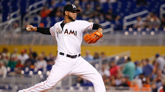 Ozuna Nails Two At Plate As Marlins Hang On For Win