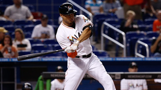 Stanton Singles Home Winning Run in 10th