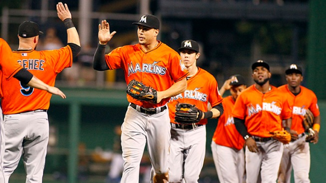 Big Eighth Inning Lifts Marlins To Win