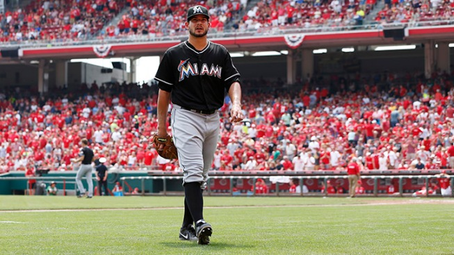 Reds Hand Marlins A Lopsided Loss