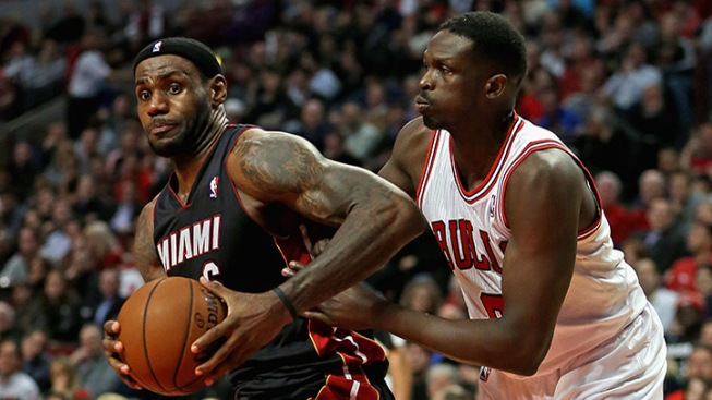 Report: Pat Riley Meets With Luol Deng