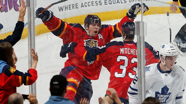 Panthers Fight Back With 4 Goals in Final Period