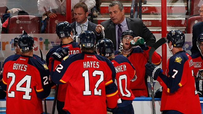 Panthers Let Horachek Go, Begin Search For New Head Coach