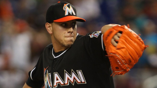 Jose Fernandez Named NL Pitcher of the Month for April