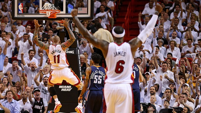 Heat Take 2-0 Series Lead Over Charlotte Bobcats With Hard Fought Win