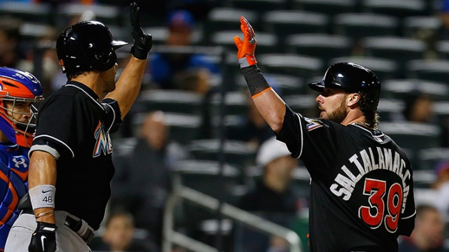 Saltalamacchia Hits Game Winning Blast in Tenth As Marlins Beat Mets