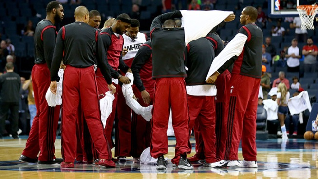 Miami Heat Echo Statement Made By Los Angeles Clippers During Pregame