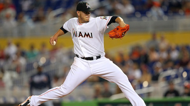 Jose Fernandez Hurls Eight Shutout Innings in 9-0 Win Over Braves