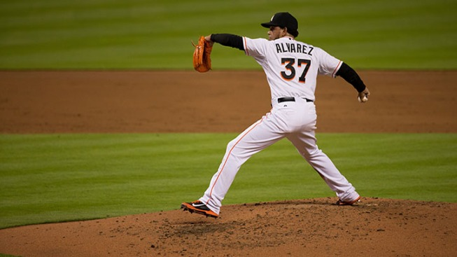 Alvarez Tosses Complete Game Shutout As Marlins Win Third Straight
