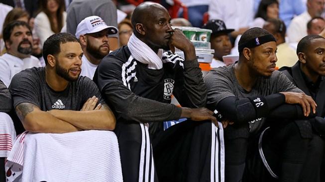 Heat Has Garnett & Nets Against the Ropes