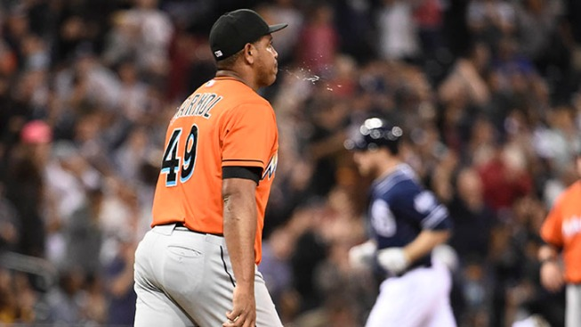 Marlins End Marmol Experiment After Another Poor Outing