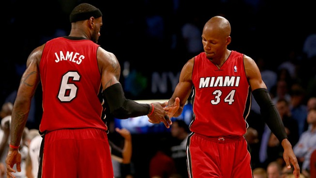 Ray Allen Leaning Towards Returning: Report