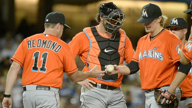Dodgers Walk All Over Marlins in Miami's Fourth Straight Loss