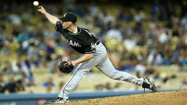 DeSclafani Wins Debut in Blowout To End Marlins Skid