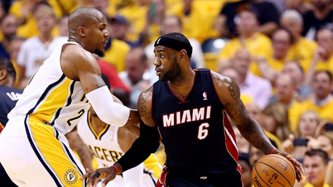 Heat Fall With LeBron in Foul Trouble All Game Long