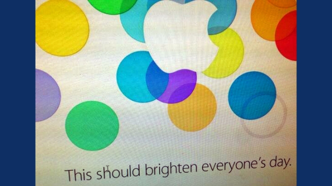Apple Event Invitation Hints at New iPhone Colors