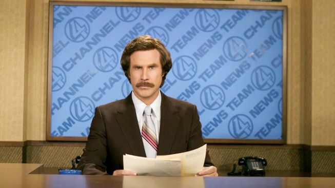 "Great Odin's Raven: Will Ferrell Announces ""Anchorman"" Sequel"