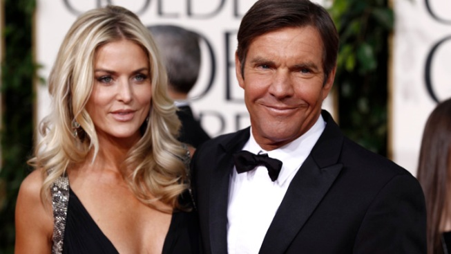 Dennis Quaid's Wife Kimberly Files for Divorce for Second Time