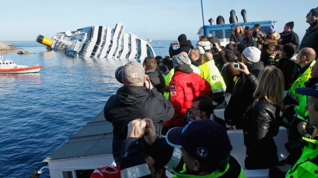 Costa Cruises Offering Full Refund to Costa Concordia Guests