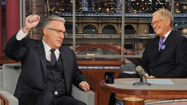 Olbermann Talks Current Ouster on Letterman