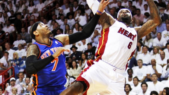 Heat Host Knicks With Bragging Rights on the Line