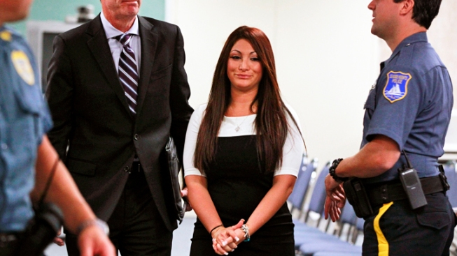 "Deena from ""Jersey Shore"" Pleads Guilty in Court"