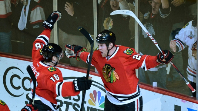 Blackhawks vs. Wild Series Opens Tuesday