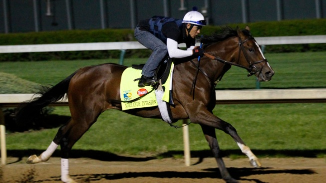 Derby Hopefuls Participate in Final Major Workout