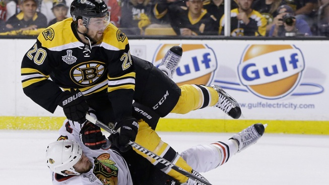 Paille, 3rd Line Push Bruins Into Series Lead
