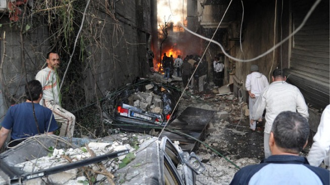 Twin Car Bombs Kill 34 in Syrian Suburb