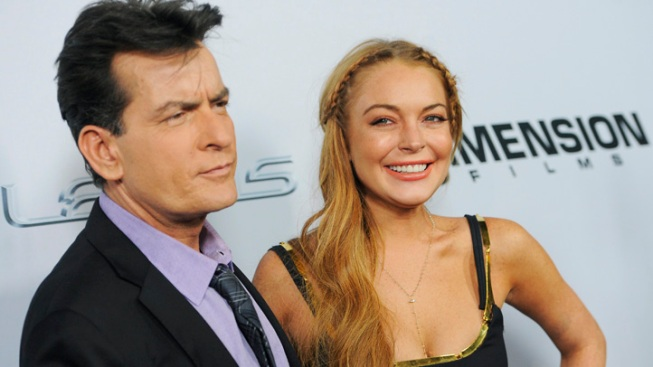 """Lohan Shows up Late for """"Scary Movie 5"""" Premiere"""