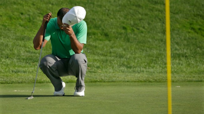Tiger Woods Falters Again On the Major Stage