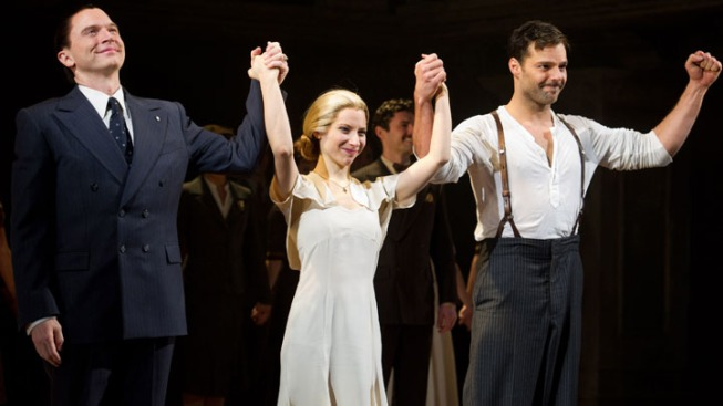 "The Big 3 From ""Evita"" to Leave Show in January"