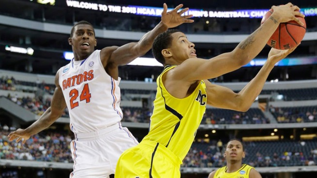 Michigan Rolls Into Final Four, Beats Fla. 79-59